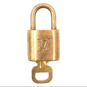 Lock Keepall Speedy Alma Brass and Key Set #317